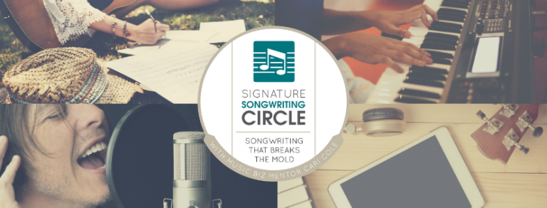 Signature songwriting circle course