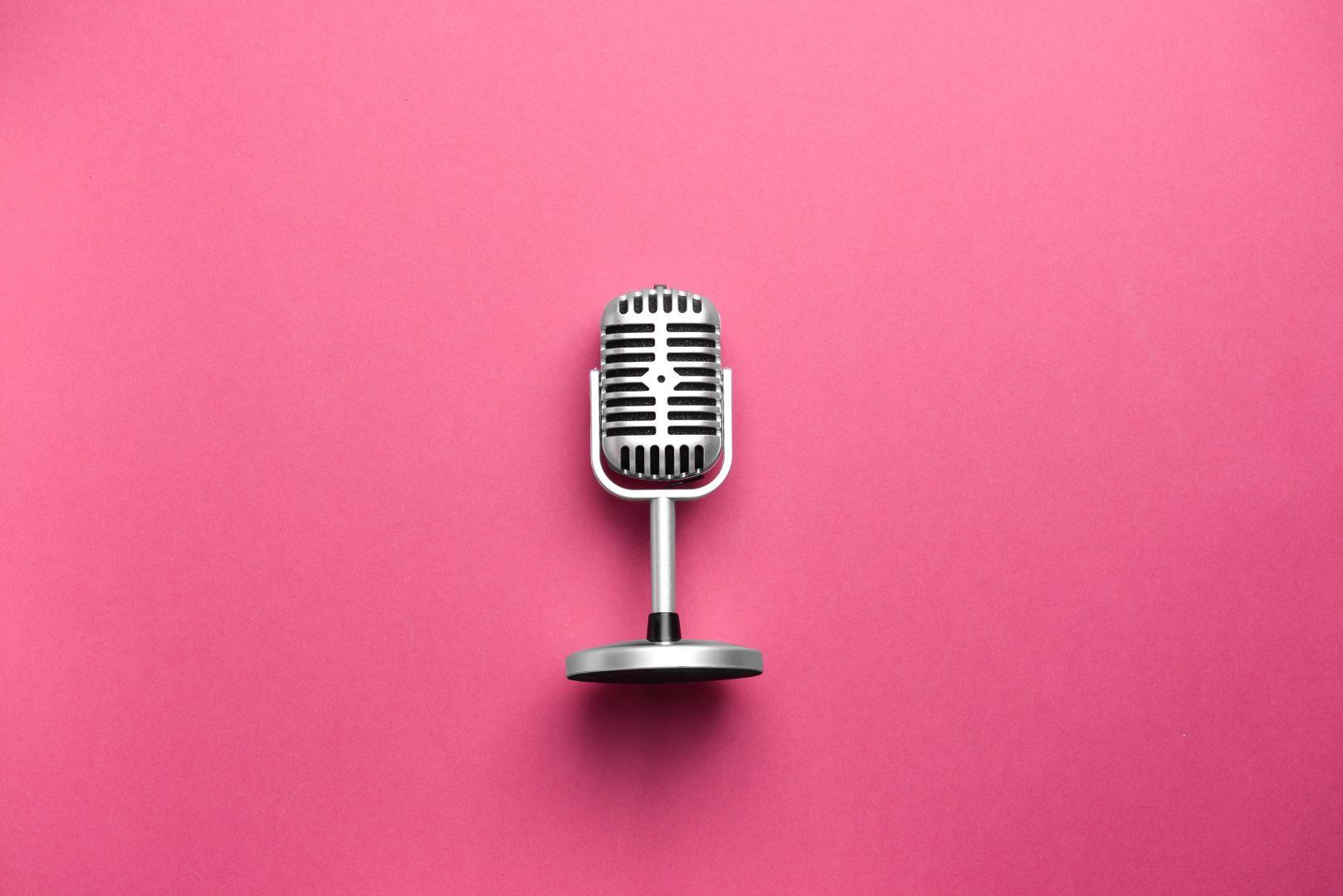концертов ретро микрофон для фотосессии любить