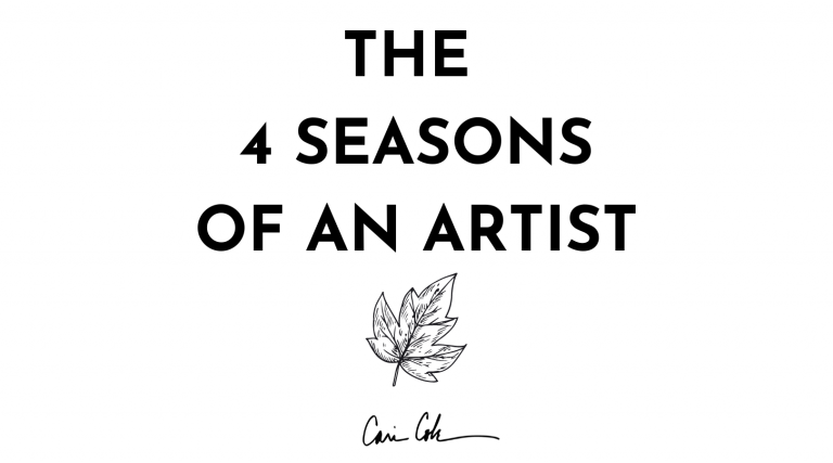 The 4 Seasons of a Music Artist: How to Nurture and Create Better Music